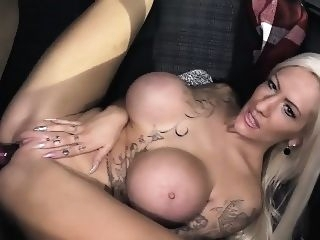big boobs BUMS BUS - Inked German slut Lena Lay gets bus fucked by a blonde blowjob
