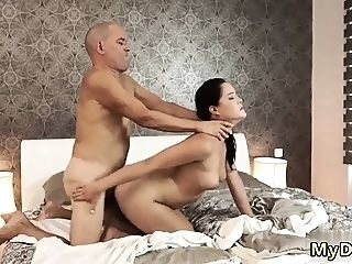 blowjob Old woman gangbang first time If you overlook your girlboss, brunette doggystyle