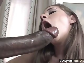 big cock Cassidy Klein Pleases A Big Black Cock With Her Feet foot fetish interracial