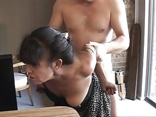 anal I Turned My Tiny Mexican Granny Maid Into an Anal Slave mature milf