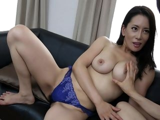 big tits Rei Kitajima in Rei Kitajima is fucked so much by her young neighbour - JapanHDV creampie cumshot