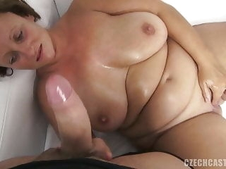 blonde bbw marie casting blowjob hardcore