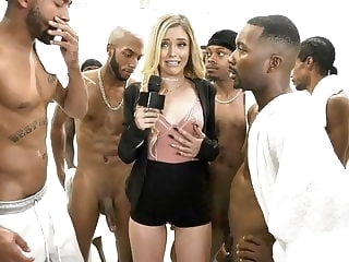 blowjob Kali Roses Sucks A Black Football Team cumshot facial