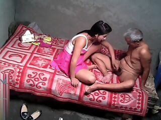 amateur Asian Grandpa With Sexy Prostitute asian hidden cam