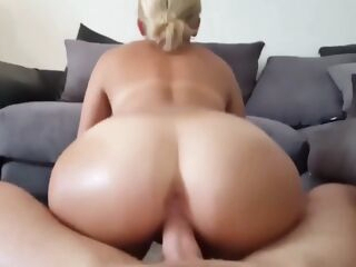 big ass Pawg Working Hard To Get Your Cum blonde blowjob