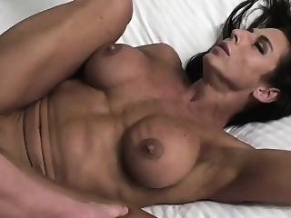 big boobs Female Bodybuilder Fucks Her Boyfriend Briana Beau brunette fetish