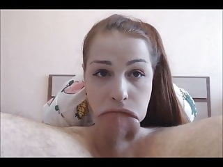 amateur Teen Loves To Deepthroat Suck blowjob cumshot