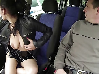 amateur Czech Cops Watching Whore with Client blowjob brunette