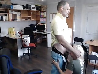 hidden camera Hidden camera. Accountant Tatiana and Director 3 voyeur hd videos
