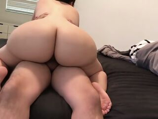 amateur Sexy PAWG takes shower and twerks on dick! (crystal lust) big ass big tits