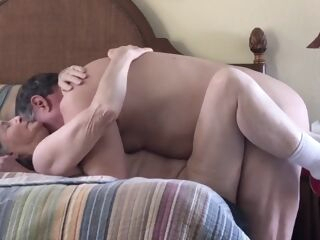 amateur Grandma loves to screw granny handjob