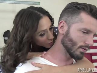amateur Ariella Ferrera is a pornstar who likes to fuck men, even while she is not at work big tits brunette